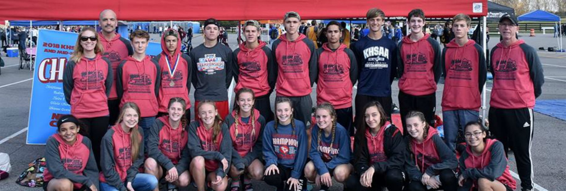 NCHS Cross Country Team