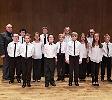 Bloomfield Children's Chorale qualifies 13 for All-State Choir