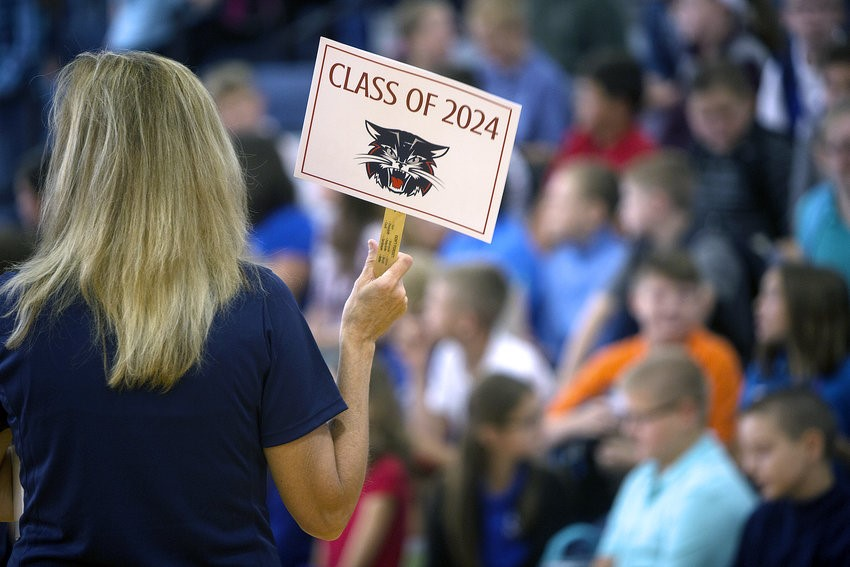 Sign says Class of 2024