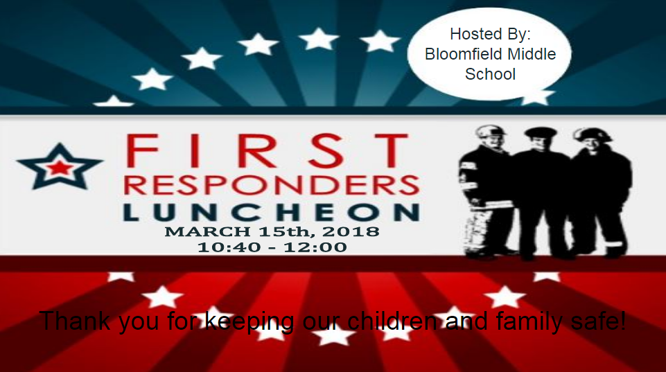 First Responders' Luncheon