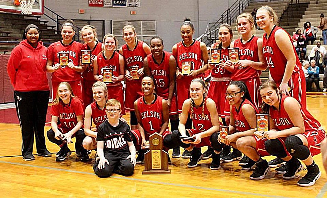 Lady Cardinals -- the regional champions