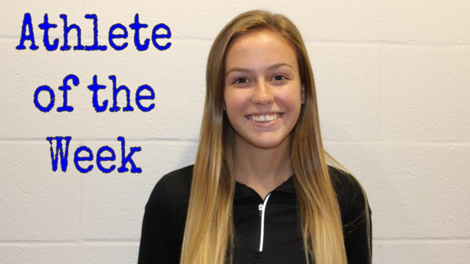 Athlete of the Week, Erin O'Neill, Cross Country