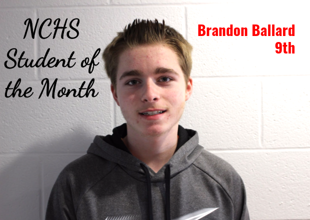Brandon Student of the Month