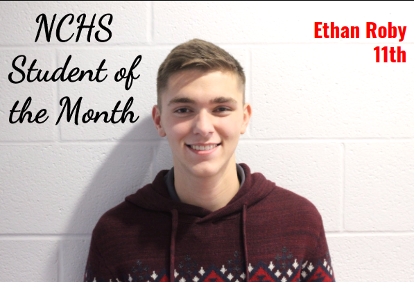 Ethan Student of the Month