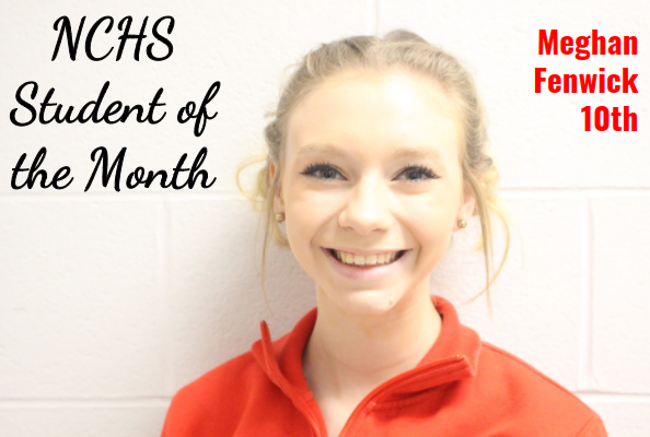 Meghan Student of the Month