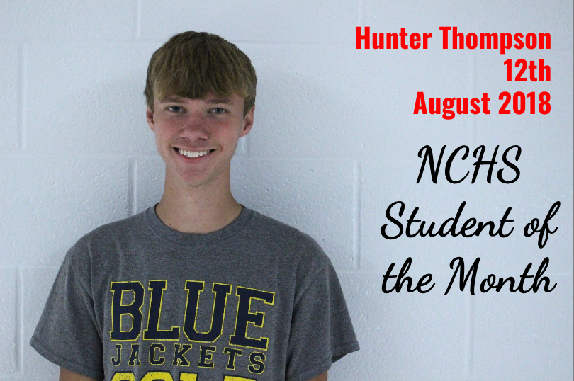 Hunter Thompson - 12th Grade - Student of the Month