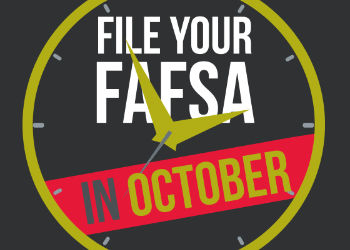 FAFSA reminder graphic