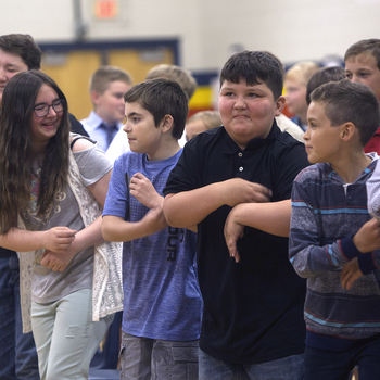 CCES fifth-grade promotion dance