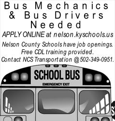 District needs drivers and mechanics