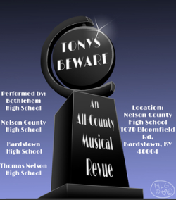 Logo for Tonys Beware performances
